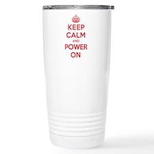 Keep Calm Power Travel Mug