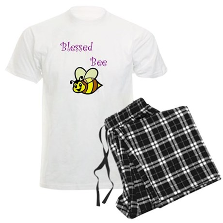 Blessed Bee.jpg Men's Light Pajamas