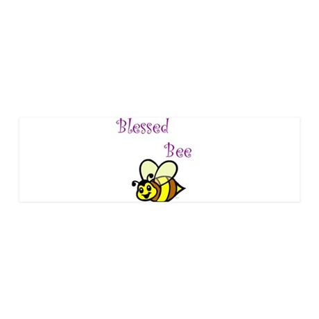 Blessed Bee.jpg 36x11 Wall Decal