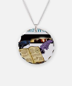Witchy woman 2.jpg Necklace Circle Charm