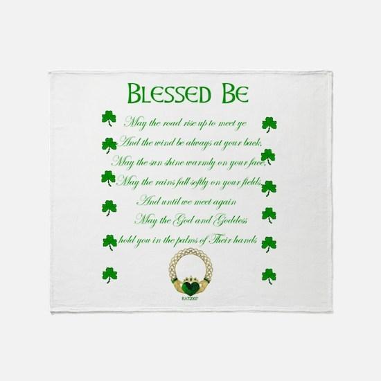 An Irish Blessing.jpg Throw Blanket