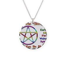 ElementBlessing.jpg Necklace Circle Charm