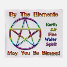 ElementBlessing.jpg Throw Blanket