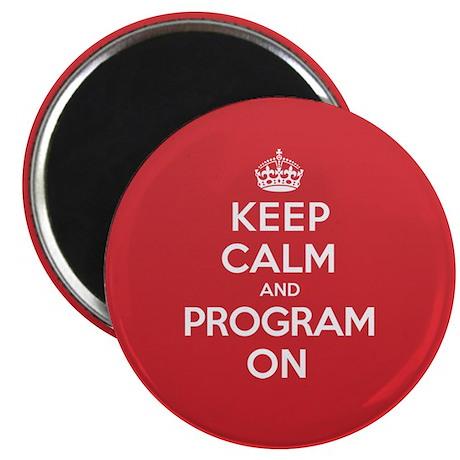 Keep Calm Program Magnet