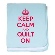 Keep Calm Quilt baby blanket