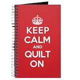 Quilters Journals & Spiral Notebooks
