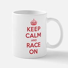 Keep Calm Race Mug