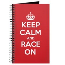 Keep Calm Race Journal