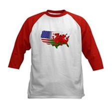 American Welsh Map Tee