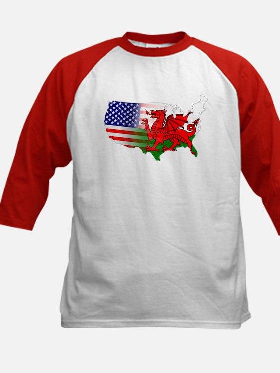 American Welsh Map Tee