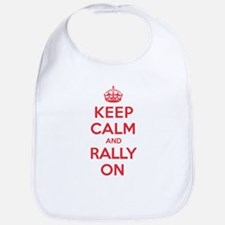 Keep Calm Rally Bib