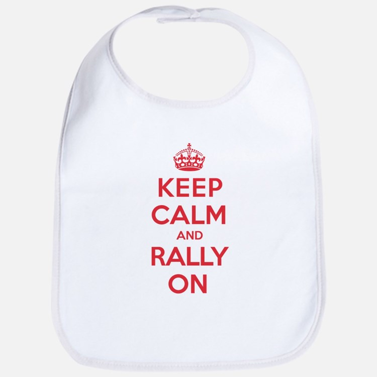 Keep Calm Rally Bib