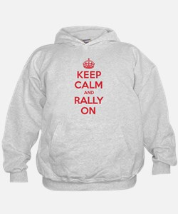 Keep Calm Rally Hoodie