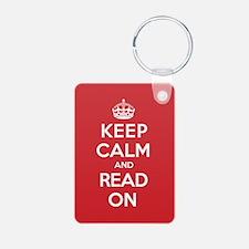 Keep Calm Read Keychains