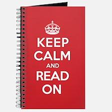 Keep Calm Read Journal