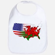 American Welsh Map Bib