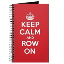 Keep Calm Row Journal