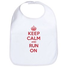 Keep Calm Run Bib
