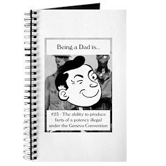 Potent Farts Dad Journal
