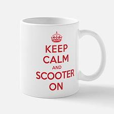 Keep Calm Scooter Mug