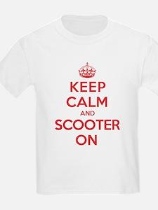 Keep Calm Scooter T-Shirt