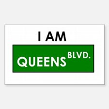 I am Queens Boulevard! Rectangle Decal