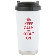 Keep Calm Scout Travel Mug