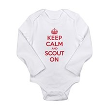 Keep Calm Scout Long Sleeve Infant Bodysuit