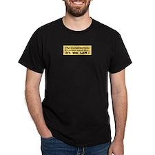 Constitution Black T-Shirt