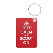 Keep Calm Scout Keychains