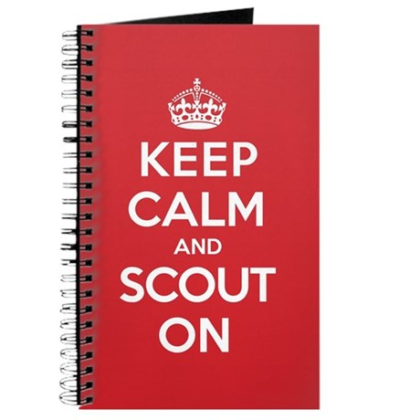 Keep Calm Scout Journal