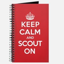 Keep Calm Scout Journal