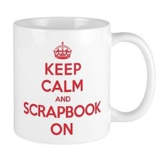 Keep Calm Scrapbook Mug