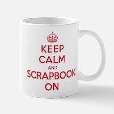 Keep Calm Scrapbook Mug