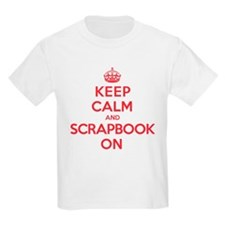 Keep Calm Scrapbook T-Shirt
