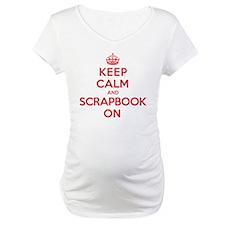 Keep Calm Scrapbook Shirt