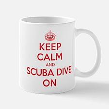 K C Scuba Dive On Mug