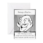 Life Isn't Fair Dad Greeting Cards (Pk of 10)