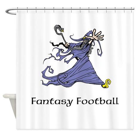 Fantasy football shower curtain by fantasysportslegends for Fantasy shower curtains
