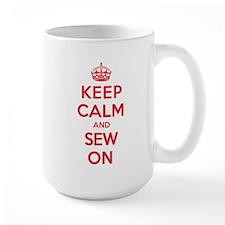 K C Sew On Mug