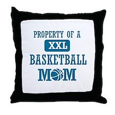 Cool Basketball Mom designs Throw Pillow