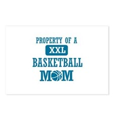 Cool Basketball Mom designs Postcards (Package of