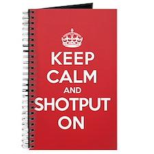 K C Shotput On Journal