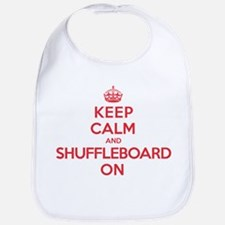 K C Shuffleboard On Bib