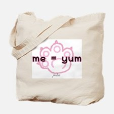 Me = Yum Tote Bag