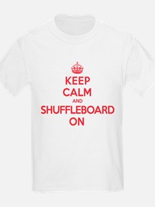 K C Shuffleboard On T-Shirt