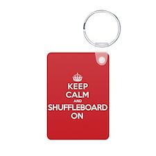 K C Shuffleboard On Keychains