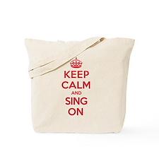 K C Sing On Tote Bag