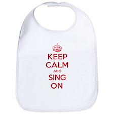 K C Sing On Bib