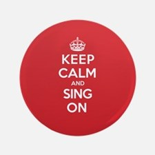 "K C Sing On 3.5"" Button"